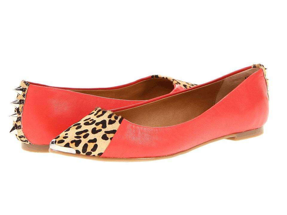 Chinese Laundry - Extra Credit (Orange Leather) Women's Slip on Shoes