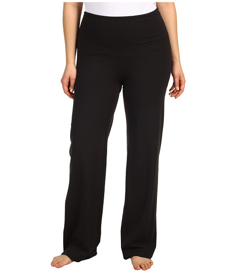Spanx Active - Plus Size On-The-Go Pant (Black) Women's Workout
