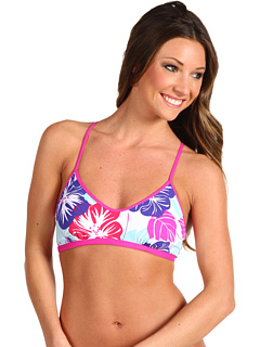 SALE! $11.99 - Save $32 on Carve Designs Catalina Bikini Top (White Hibiscus) Apparel - 72.75% OFF $44.00
