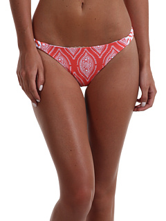 SALE! $9.99 - Save $38 on Carve Designs Andi Reversible Bottom (Coral Paisley Coast Chevron) Apparel - 79.19% OFF $48.00