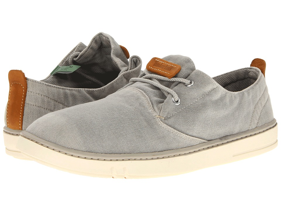 Timberland - Earthkeepers Hookset Oxford (Washed Grey Canvas) Men's Lace up casual Shoes