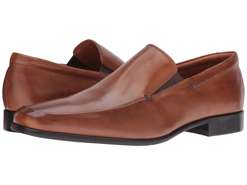 Gordon Rush - Elliot (Cognac Calf) Men's Slip-on Dress Shoes