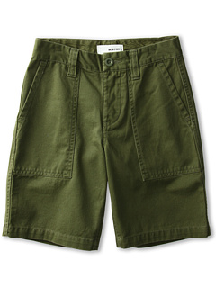 SALE! $14.99 - Save $30 on Burton Kids Boys` Military Chino Short (Little Kids Big Kids) (Olive) Apparel - 66.69% OFF $45.00