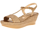 Stuart Weitzman - Flatty (Old Gold Raffia Braid)