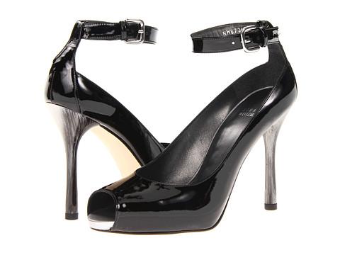 Stuart Weitzman - Kiosk (Black Patent) High Heels