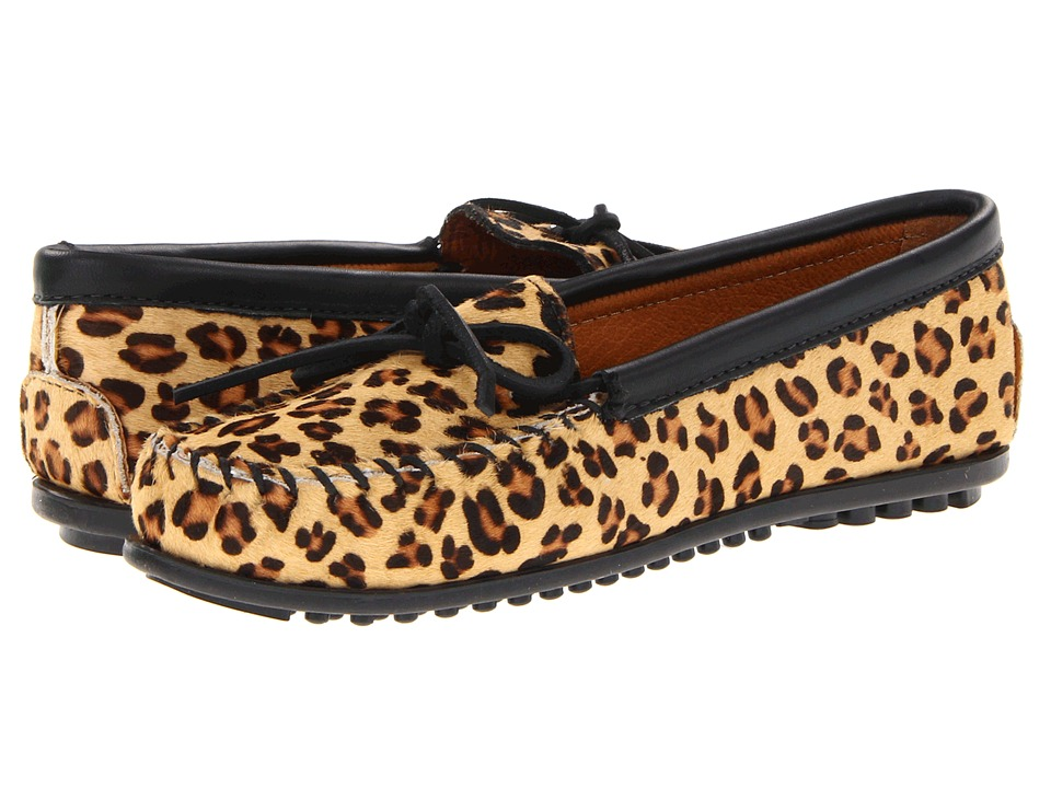 Minnetonka - Full Leopard Moc (Full Leopard) Women's Moccasin Shoes