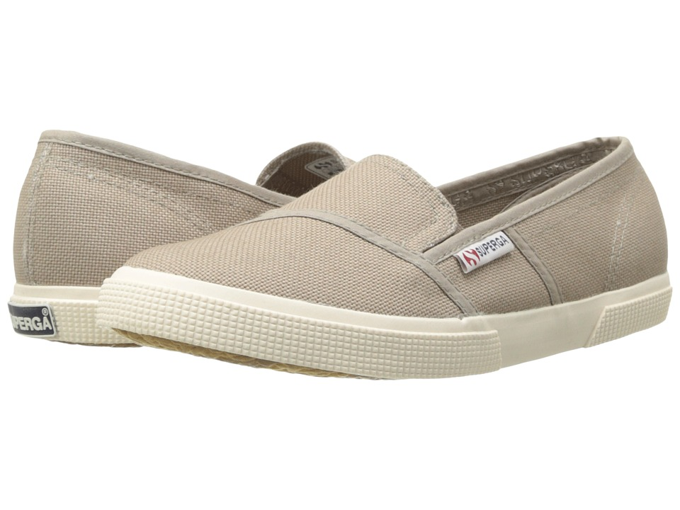 Superga - 2210 COTW Slip-On (Mushroom) Women's Slip on Shoes