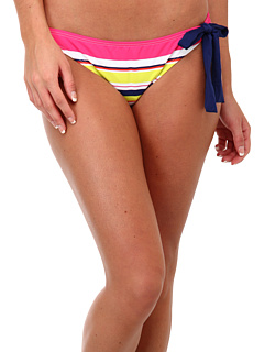 SALE! $11.99 - Save $37 on Splendid Circus Stripe Retro Bottom w Ties (Coral) Apparel - 75.53% OFF $49.00