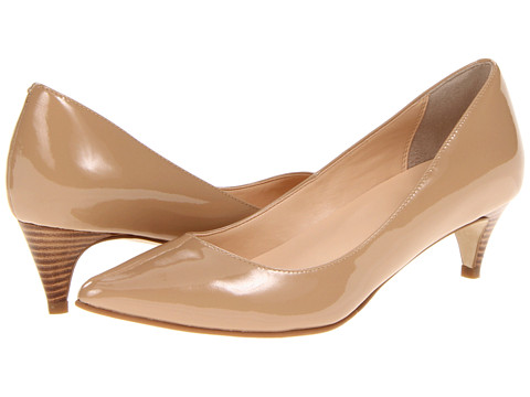 Cole Haan - Air Juliana Pump 45 (Sandstone Patent) Women's 1-2 inch heel Shoes