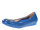 Cole Haan - Air Reesa Buckle Ballet (Empire Blue/Empire Blue Patent) - Cole Haan Shoes