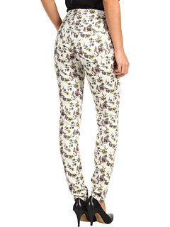 SALE! $16.99 - Save $67 on Jag Jeans Chloe Skinny Jardin Floral Sanded Twill (Multi Floral) Apparel - 79.77% OFF $84.00