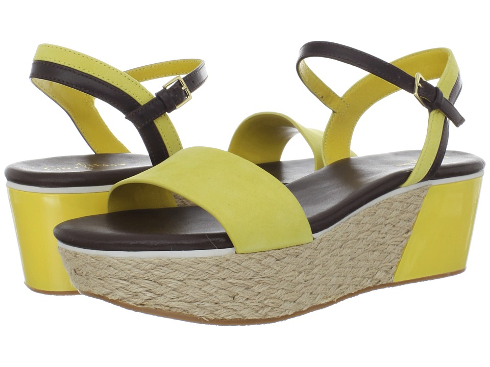 Cole Haan - Arden Wedge (Sunlight Nubuck) Women's Sandals