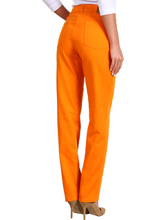 SALE! $31.15 - Save $58 on Anne Klein 5 Pocket Skinny Jean in Mandarin (Mandarin) Apparel - 65.00% OFF $89.00