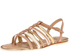 Cole Haan - Nassau Flat Sandal (Sandstone/Ivory/Platino) - Cole Haan Shoes