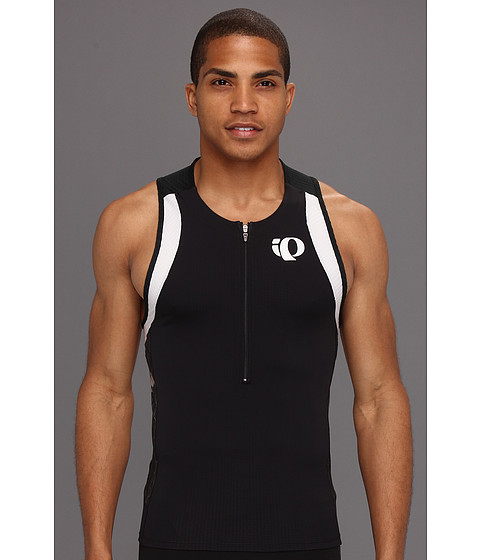 Pearl Izumi - ELITE In-R-Cool Tri Singlet (Black/Black Turnout) Men's Sleeveless