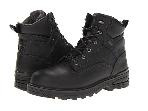 Timberland PRO - Resistor 6 WP Composite Toe (Black) Men