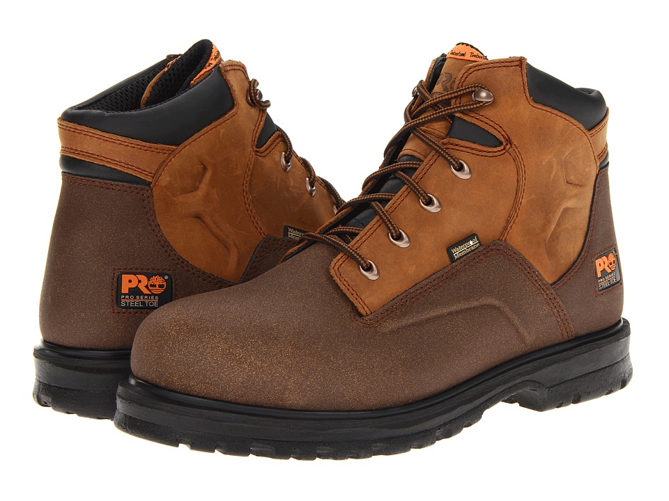 Timberland PRO Powerwelt 6 ST WP Wheat Men's Work Boots