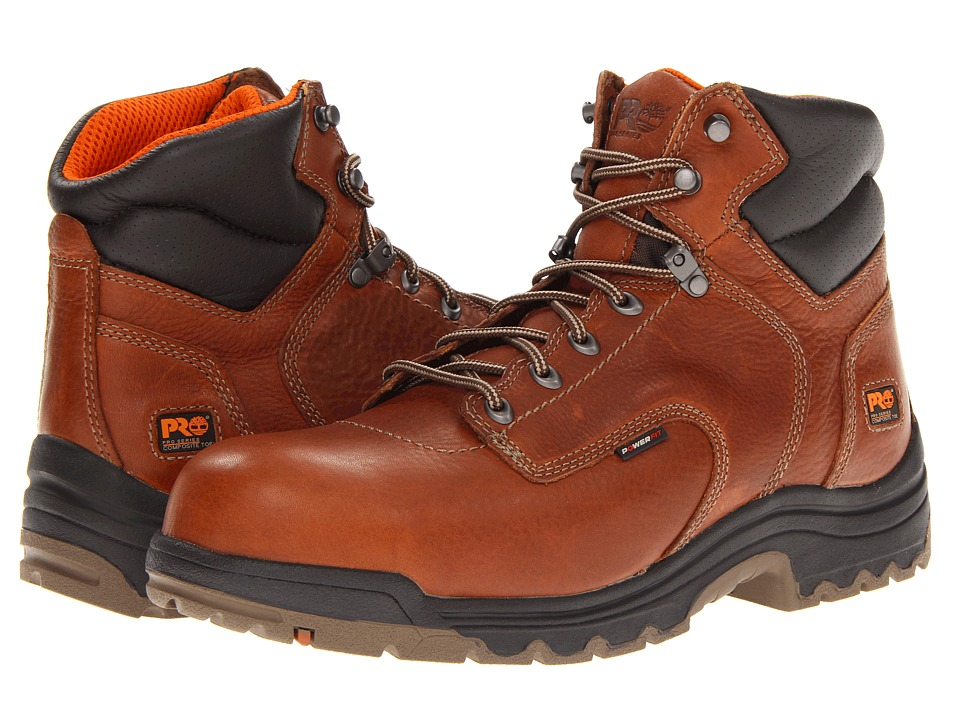 Timberland PRO - TiTAN 6 Composite (Light Brown) Men's Work Boots