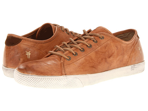 Frye - Chambers Low (Camel Antique Soft Vintage Full Grain) Men's Lace up casual Shoes