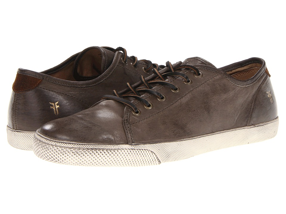 Frye - Chambers Low (Charcoal Antique Soft Vintage Full Grain) Men's Lace up casual Shoes