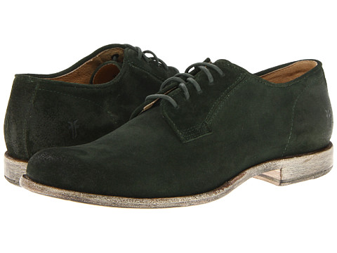 Frye - Phillip Oxford (Dark Green Suede) Men