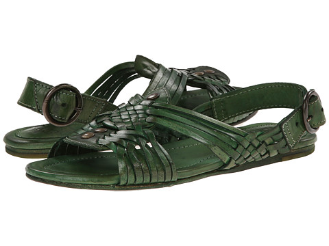 Frye - Jacey Huarache (Green Veg Tan) Women's Sandals