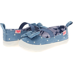SALE! $14.99 - Save $9 on Roxy Kids Minnie (Infant Toddler) (Chambray) Footwear - 37.54% OFF $24.00