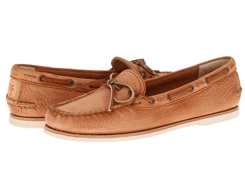 Frye - Quincy Tie (Natural Sunwash Nubuck) Women