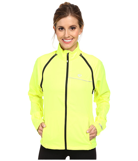 Pearl Izumi - W ELITE Barrier Convertible Cycling Jacket (Screaming Yellow) Women's Coat