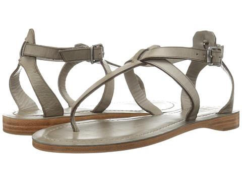 Frye - Rachel T Sandal (Grey Veg Tan) Women's Sandals