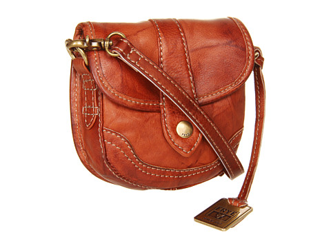 Frye - Campus Mini (Saddle Dakota) Clutch Handbags