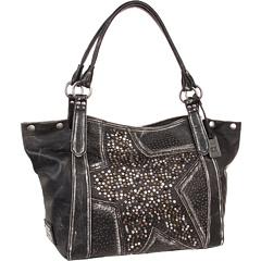 SALE! $389.99 - Save $158 on Frye Deborah Star Shoulder (Black Vintage Leather) Bags and Luggage - 28.83% OFF $548.00
