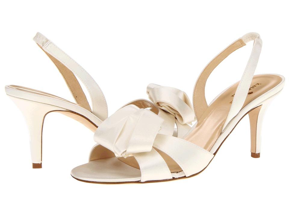 Kate Spade New York - Madison (Ivory Satin) Women's Sling Back Shoes