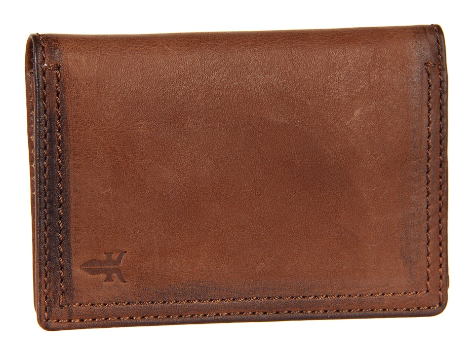 Frye - James Wallet Small (Taupe Tumbled Full Grain) Wallet Handbags