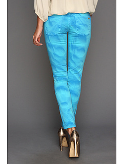 SALE! $56.99 - Save $81 on Juicy Couture Garment Dye Crop Jeans (Blue Tropic) Apparel - 58.70% OFF $138.00