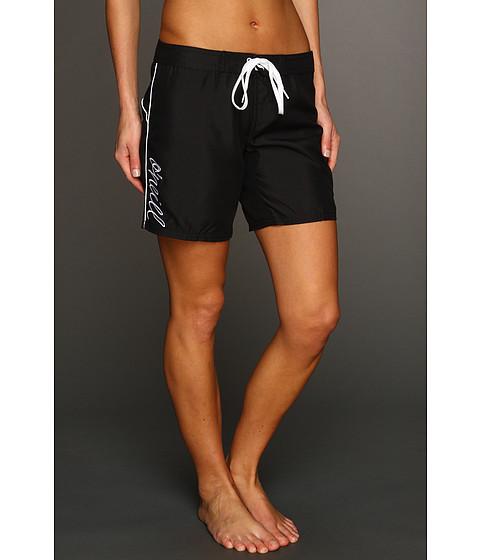O'Neill - Atlantic Boardshort 7 (Black) Women's Swimwear