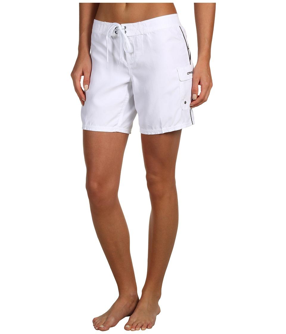 O'Neill - Atlantic Boardshort 7 (White) Women's Swimwear