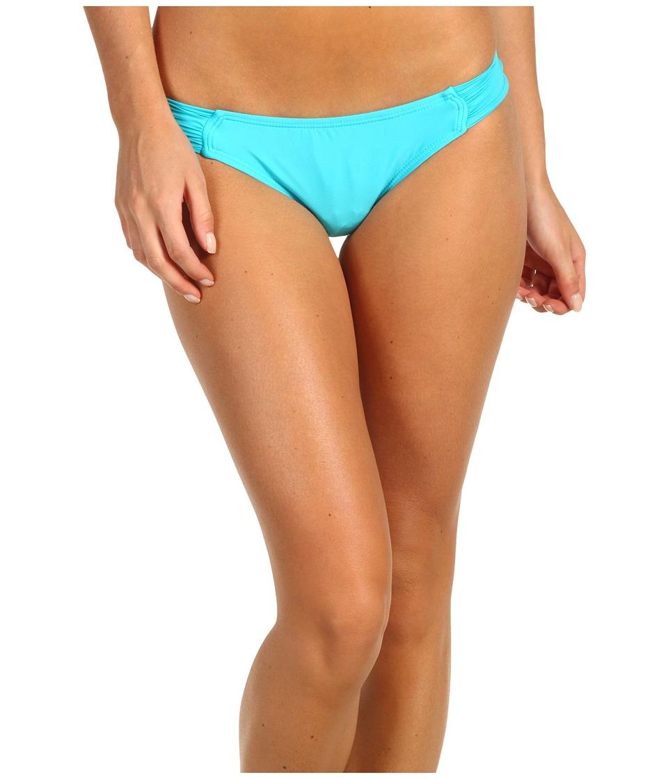 Ella Moss - Solids Tab Side Pant (Azure) Women