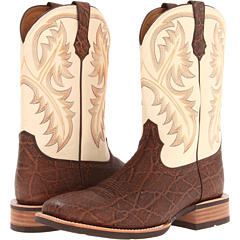 Quickdraw (Chestnut Elephant Print/Cream) Cowboy Boots