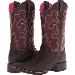 QuickDraw (Chocolate Elephant Print/Teak) Cowboy Boots