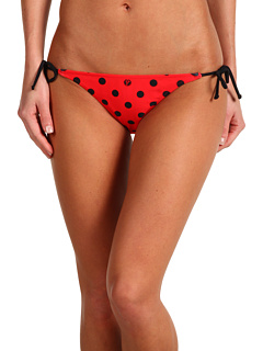 SALE! $16.99 - Save $25 on Volcom Dada Dot Reversible Tie Side Full Bottom (Red) Apparel - 59.55% OFF $42.00