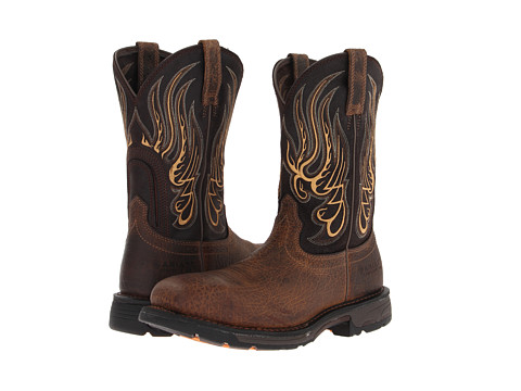 Ariat - WorkHog Mesteno Composite Toe (Earth/Coffee) Cowboy Boots