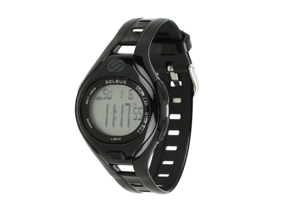 Soleus - Dash Small (Black) Sport Watches