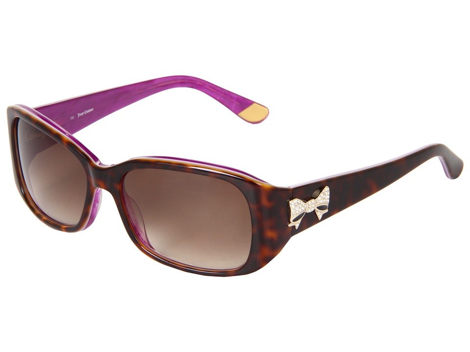 Juicy Couture - Juicy 533/S (Tortoise Purple/Brown Gradient) Plastic Frame Fashion Sunglasses