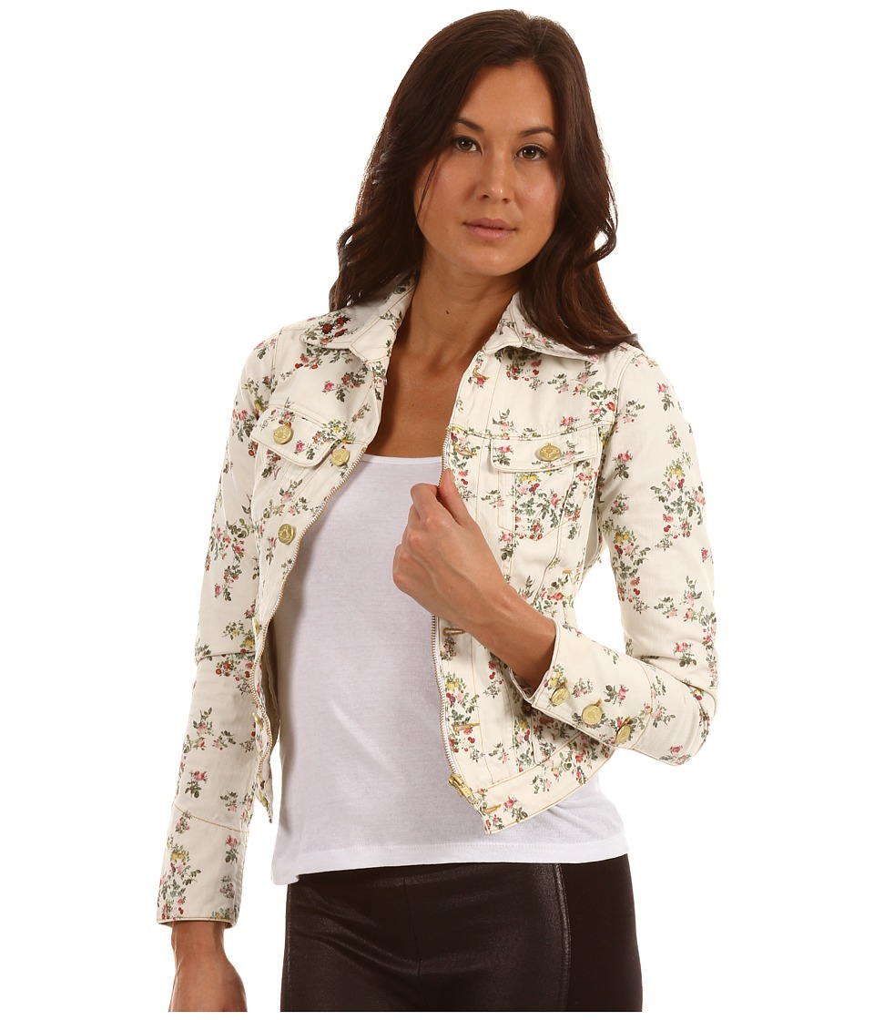 Vivienne Westwood Anglomania - New Icon Jacket (Ecru Floral) Women's Coat