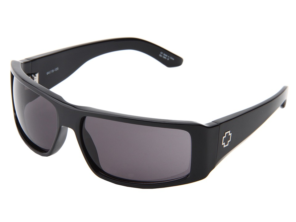 Spy Optic - Council (Black/Grey) Sport Sunglasses