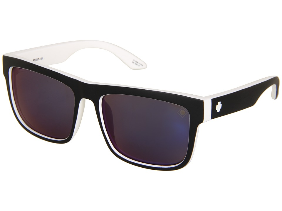 Spy Optic - Discord (Whitewall/Grey/Blue Spectra) Sport Sunglasses