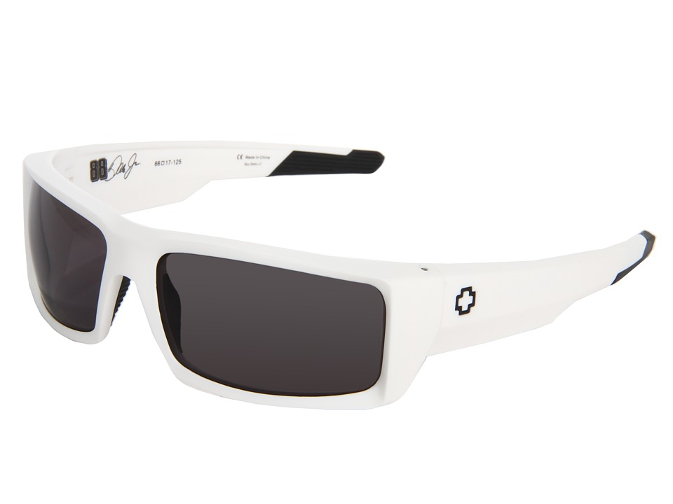 Spy Optic - General (Matte White/Grey) Sport Sunglasses