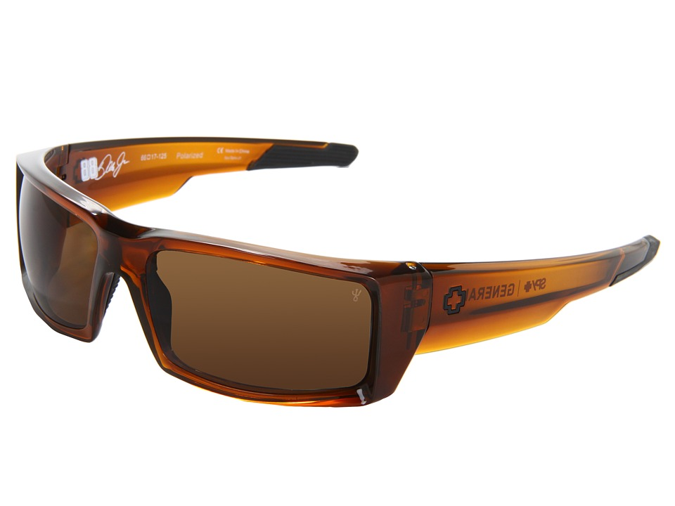 Spy Optic - General (Brown Ale/Bronze Polar) Sport Sunglasses