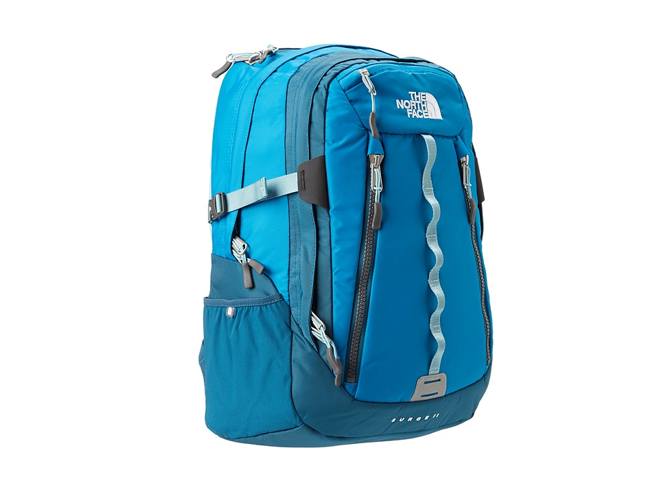The North Face - Women's Surge II (Brilliant Blue/Prussian Blue (Prior Season)) Backpack Bags